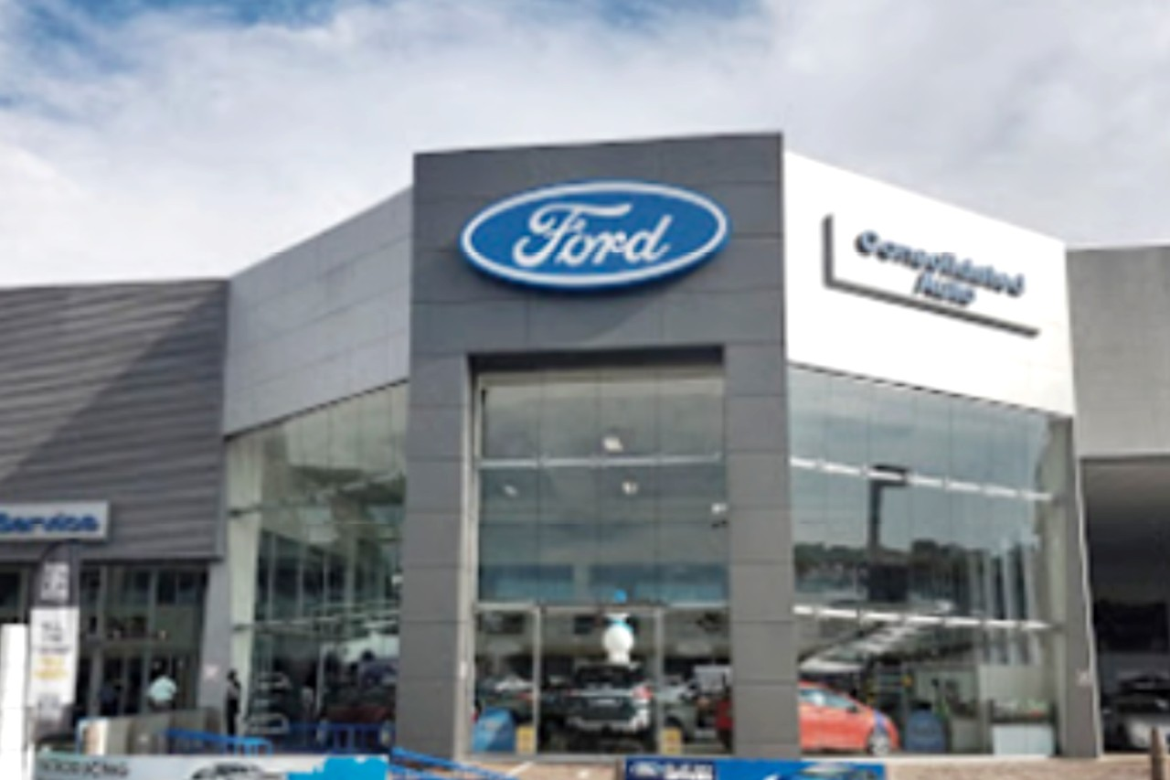 New Car Showroom for Mazda/Ford   Alldin Project Services