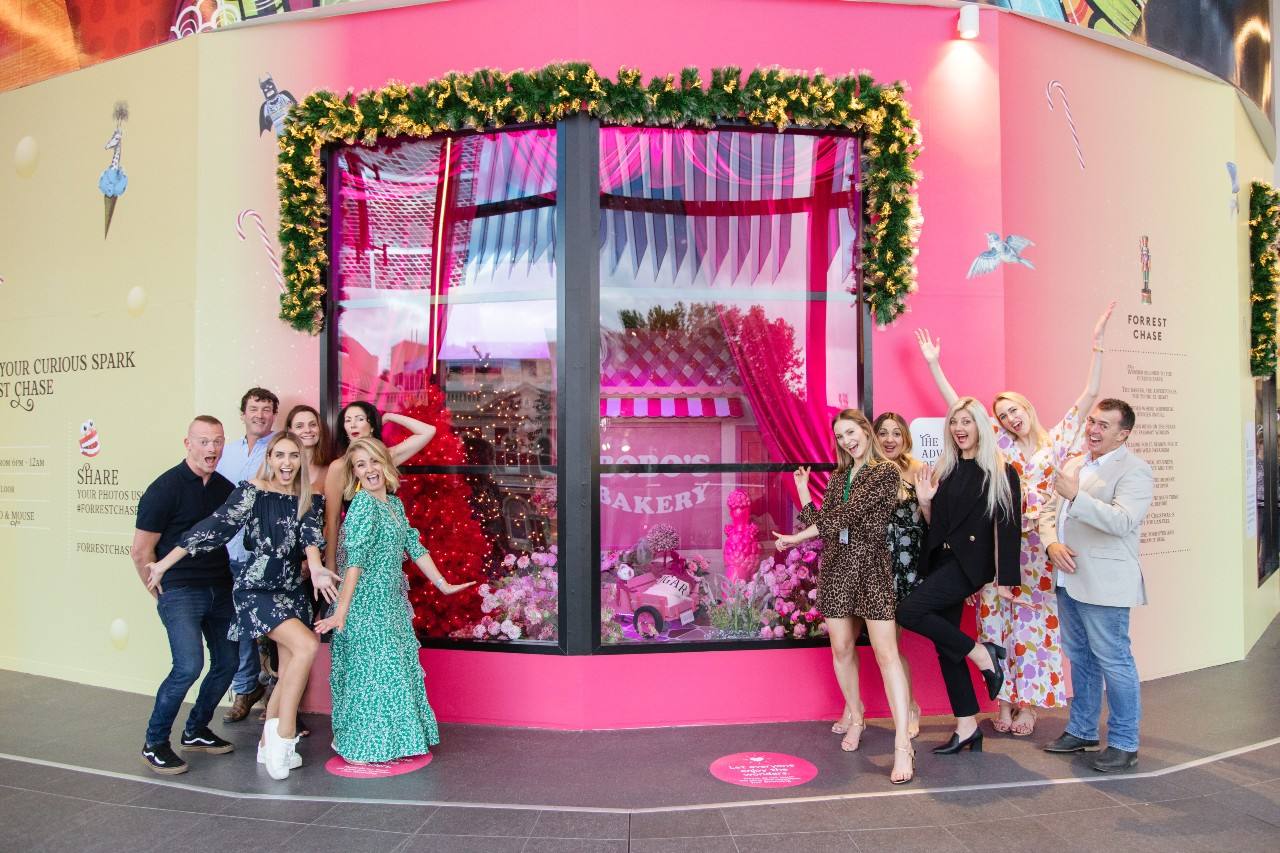 Forrest Chase Christmas windows | Alldin Commercial Fit outs