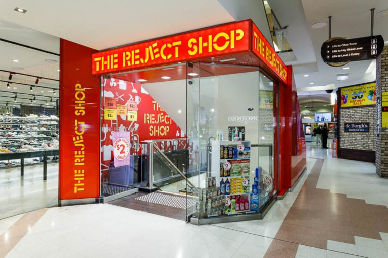 Reject Shop Murray St | Alldin Commercial Fit outs