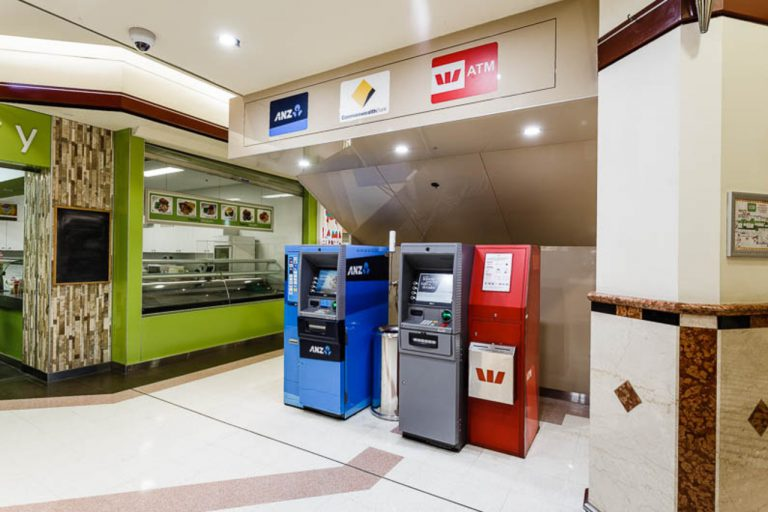 ATMs Murray St | Alldin Commercial Fit outs