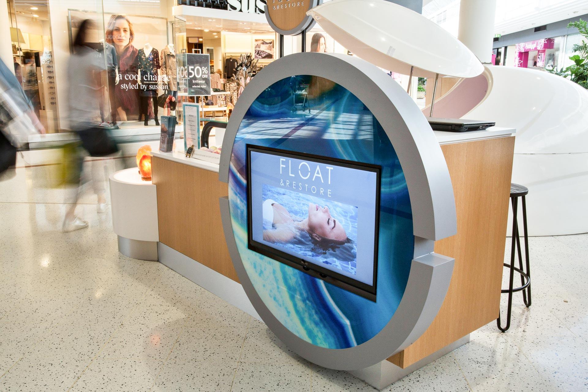 WEB Float and Restore Kiosk 10
