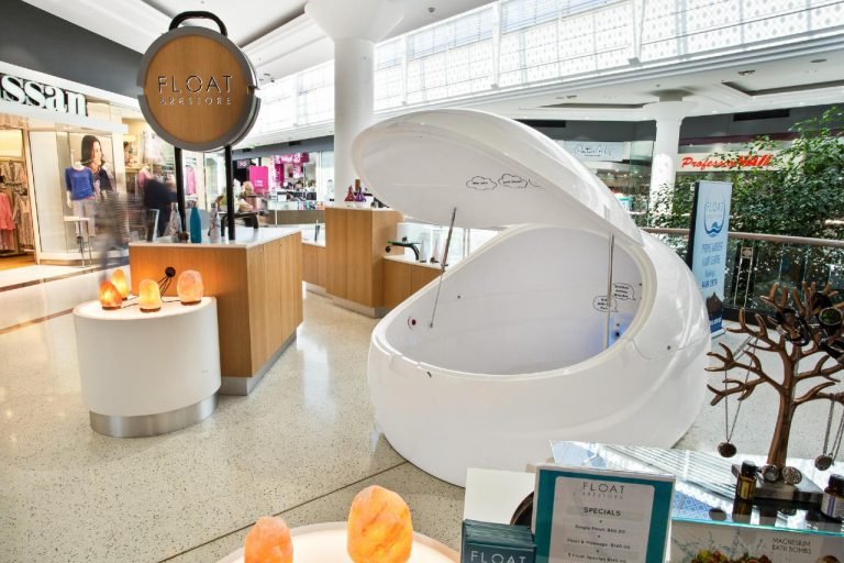 Float & Restore Kiosk Whitfords | Alldin Commercial Fit outs
