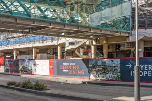 Forrest Chase Hoarding   Alldin Commercial Fit outs