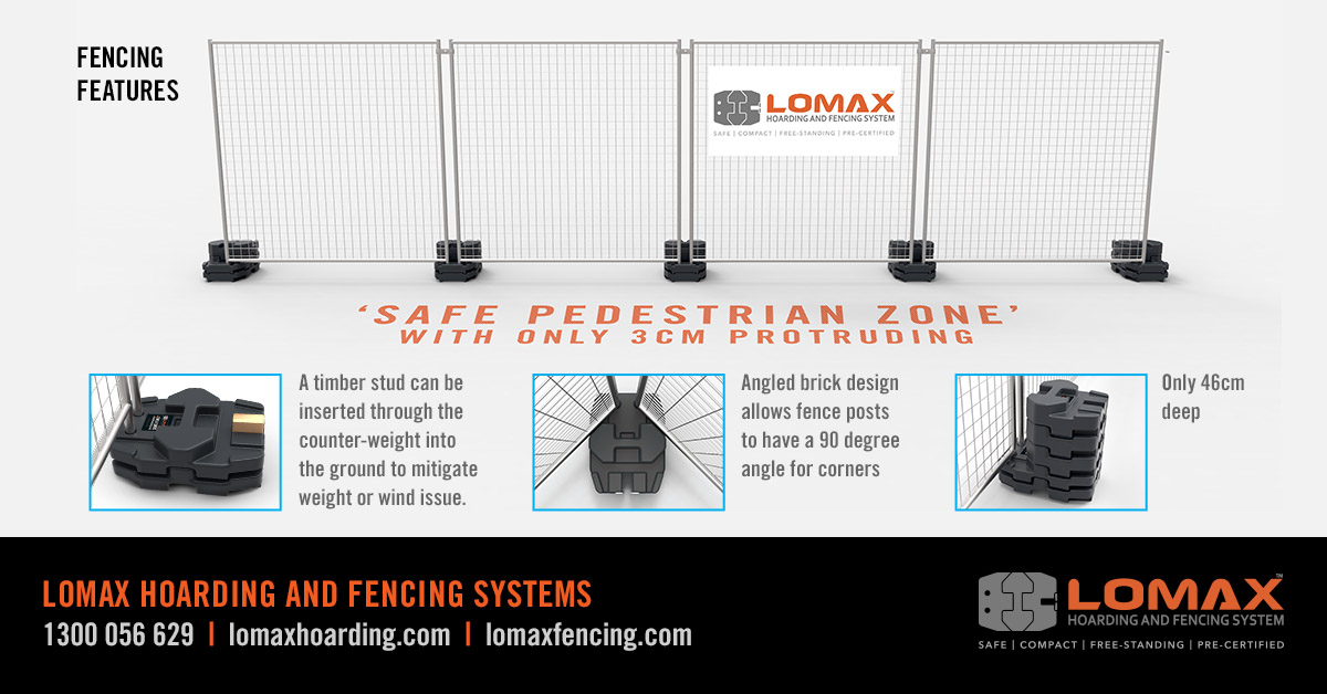LOMAX - Fencing Features