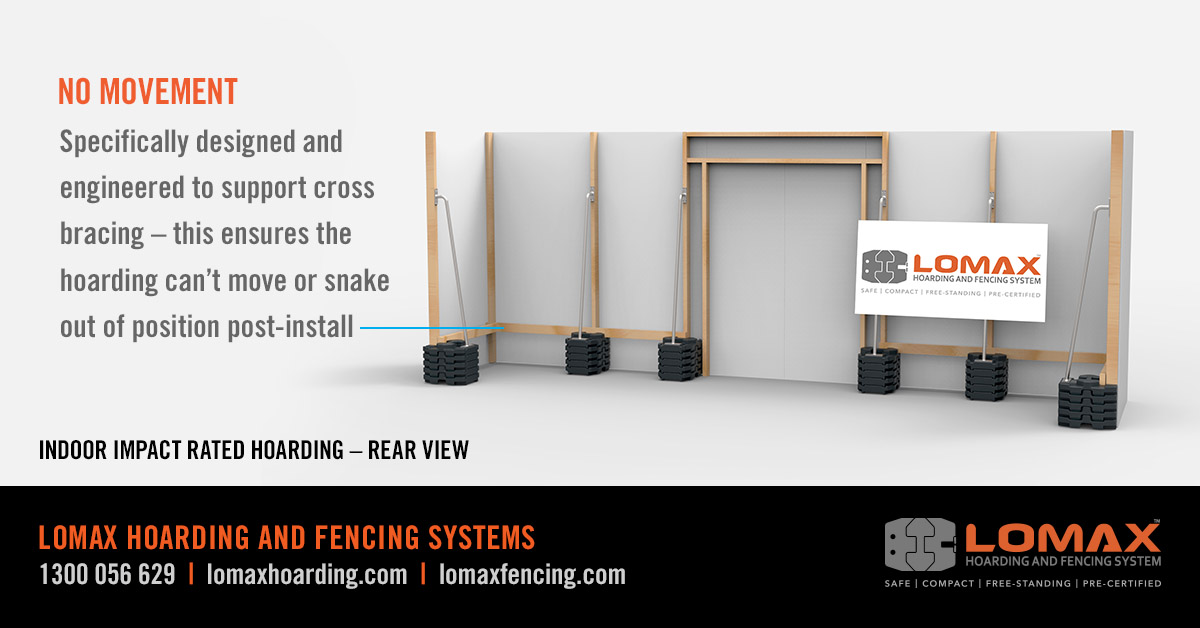 LOMAX - No Movement Cross Bracing